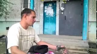 Сергей Бычков съездил в Москву на инвалидной коляске