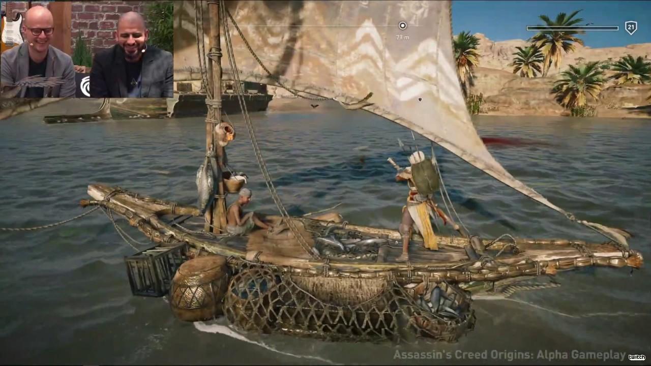 Assassin's Creed : Origins - Alpha Gameplay 30 Minute Demo ...