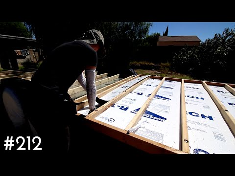 INSULATING THE TINY HOUSE SUBFLOOR