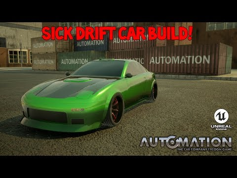 Drift Car Build Automation The Car Company Tycoon Game Unreal Engine