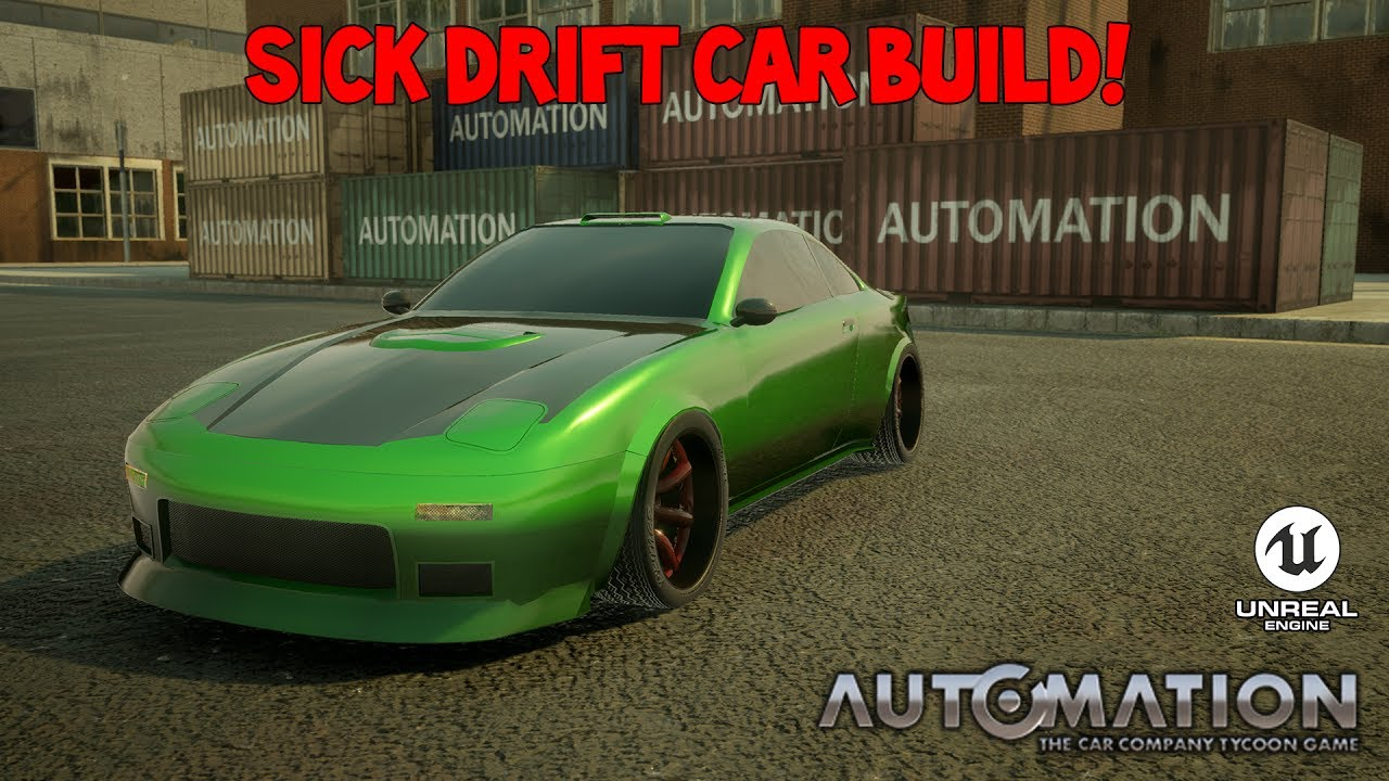 Drift Car Build Automation The Car Company Tycoon Game ...