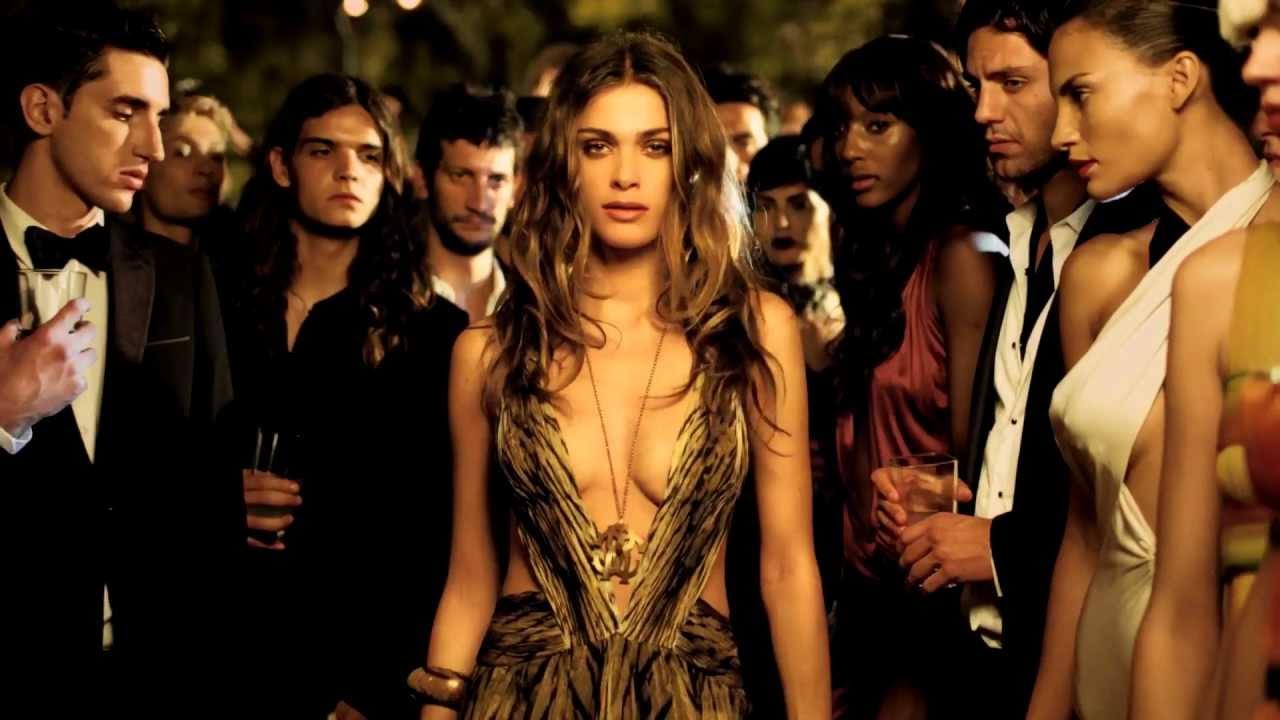 roberto cavalli parfum for her commercial tv spot reklama