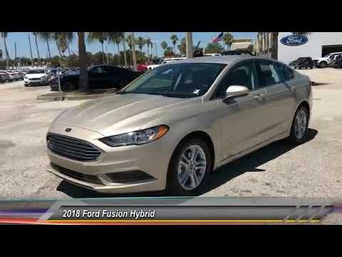 2018 Ford Fusion Hybrid Palm Bay FL JR179328