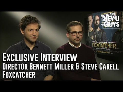 Steve Carell and Director Bennett Miller Interview - Foxcatcher