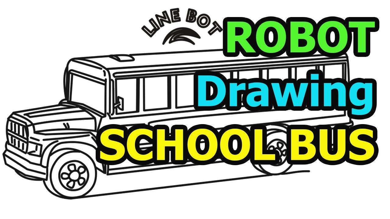 How To Draw A School Bus Quick & Easy (Drawing For Kids