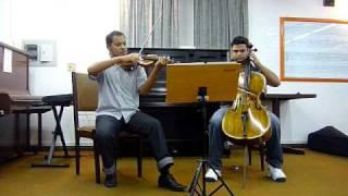 Concert Eventos - Jesus Alegria dos Homens Violino e Cello
