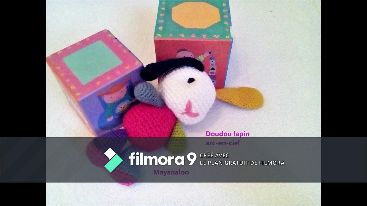 Doudou lapin au crochet – patron gratuit | Mon P\'tit Trésor | 720x1280