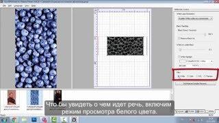 Обзор работы с программой РИП для печати на чехлах