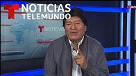 Entrevista completa: Evo Morales exige garantías para regresar a Bolivia   Noticias Telemundo