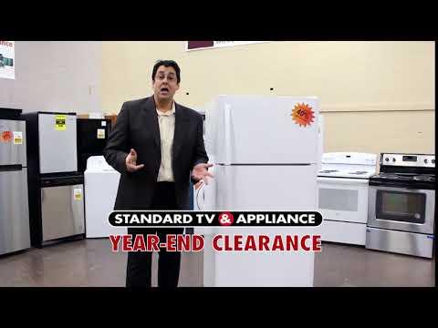 Standard TV & Appliance - Year End Clearance Sale - Refrigerators