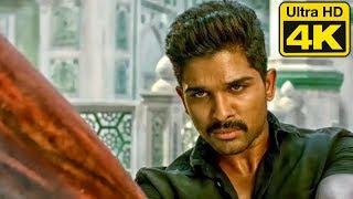 Sarrainodu Best Action Scene In 4K Ultra HD | Allu Arjun South Hindi Dubbed Action Scene