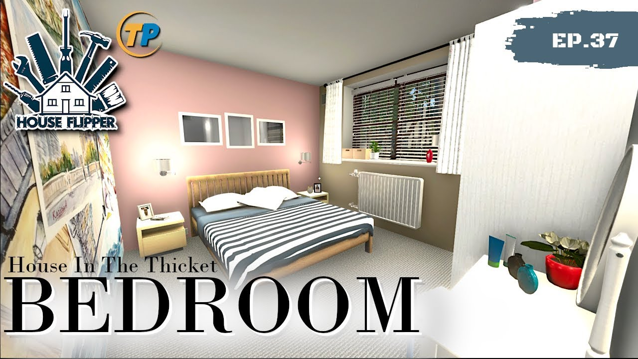 Bedroom design for House Flipper - House In the thicket ...