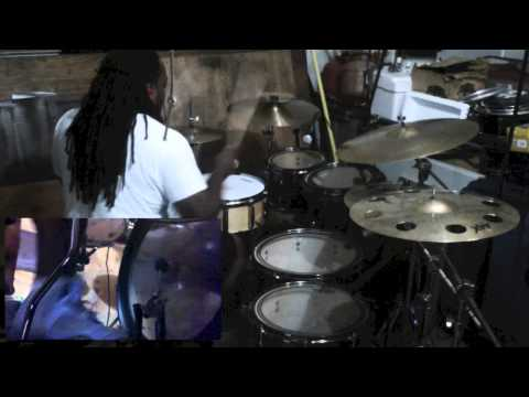 Fred Hammond - they that wait drum cover   Marcus Thomas