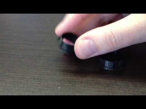 Showing the difference between Soft PLA (Flexible PLA) and normal PLA