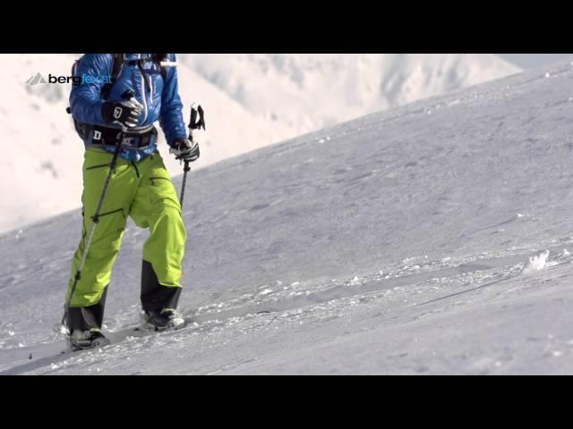 Ski touring equipment with Freeride World Champion Nadine Wallner