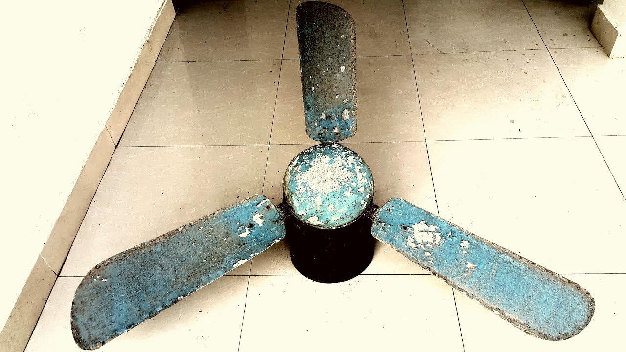 Restoration antique Russian technology ceiling fan