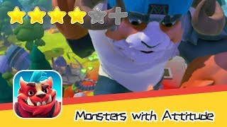 Monsters with Attitude: Brawl! - Flaregames GmbH - Walkthrough Super Cool Recommend index four stars
