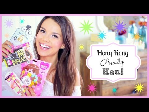 Hong Kong Beauty Haul!