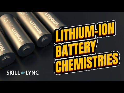 Lithium-ion Battery Chemistries | SKILL-LYNC