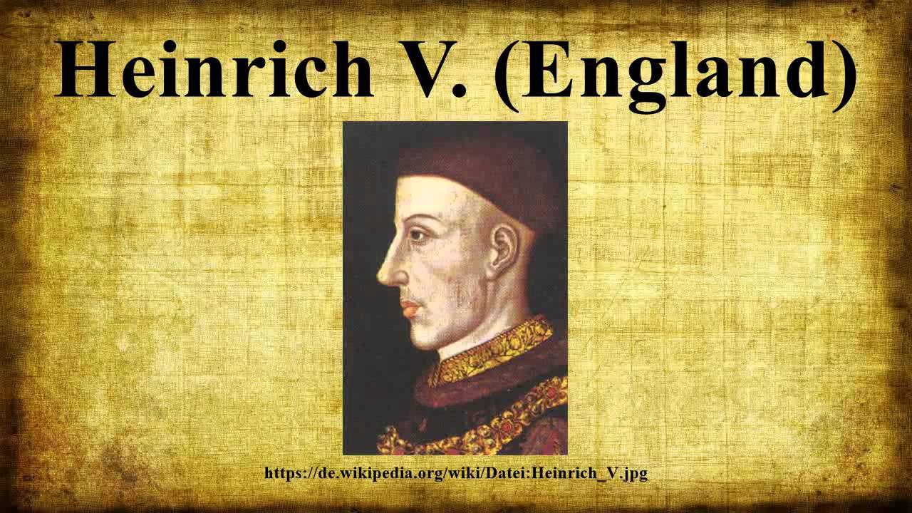 Heinrich V England