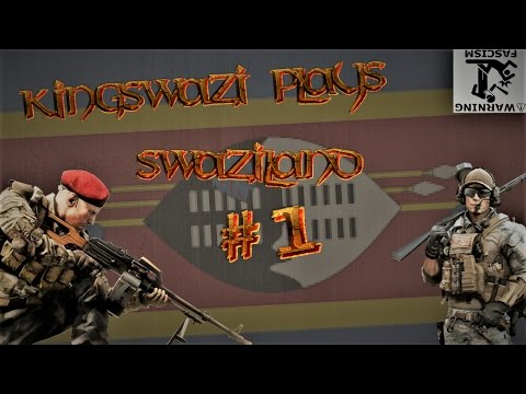 Hearts of Iron IV - Swaziland #1 - 'The Swazi-Mozambican War'