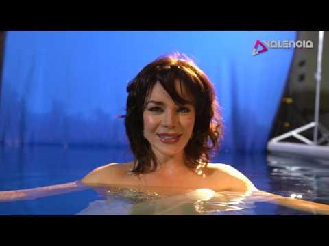 Flora Martinez - La intimidad de la grabación de su nuevo video clip