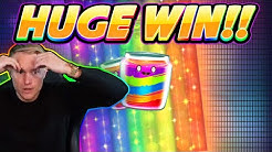HUGE WIN! JAMMIN JARS Big win - Online Slot from Casinodaddy Live Stream