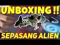 Unboxing Alien Ajaib Yg Bisa Berubah Warna Jago Kamuflase  Mp3 - Mp4 Download