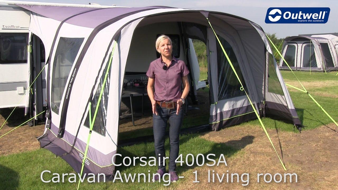 Outwell Corsair 400SA Caravan Awning