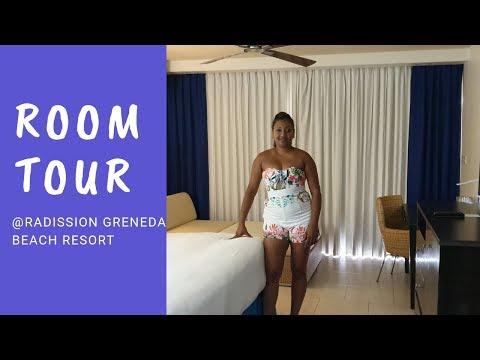 Room Tour And Grounds  - Radission Grenada Beach Resort