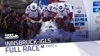 Innsbruck-Igls | BMW IBSF World Championships 2016 - 4-Man Bobsleigh Heat 4 | IBSF Official