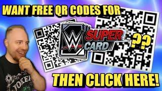 QR CODES RETURN! FREE QR CODES FOR WWE SuperCard 2019! Noology WWE SuperCard Season 5!