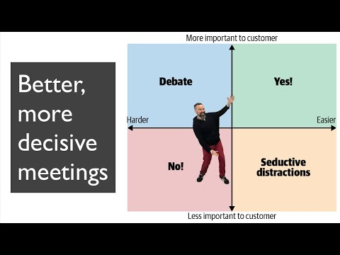 Tanzu Talk: Better, more decisive meetings