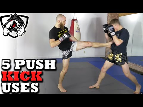 Are You Using All 5 Teep Push Kick Tricks? w/Muay Thai Guy