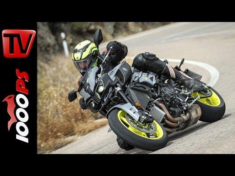 Yamaha MT-10 2016 - Erster Test, Fahreindrücke, Beschleunigung - ENGL Subs