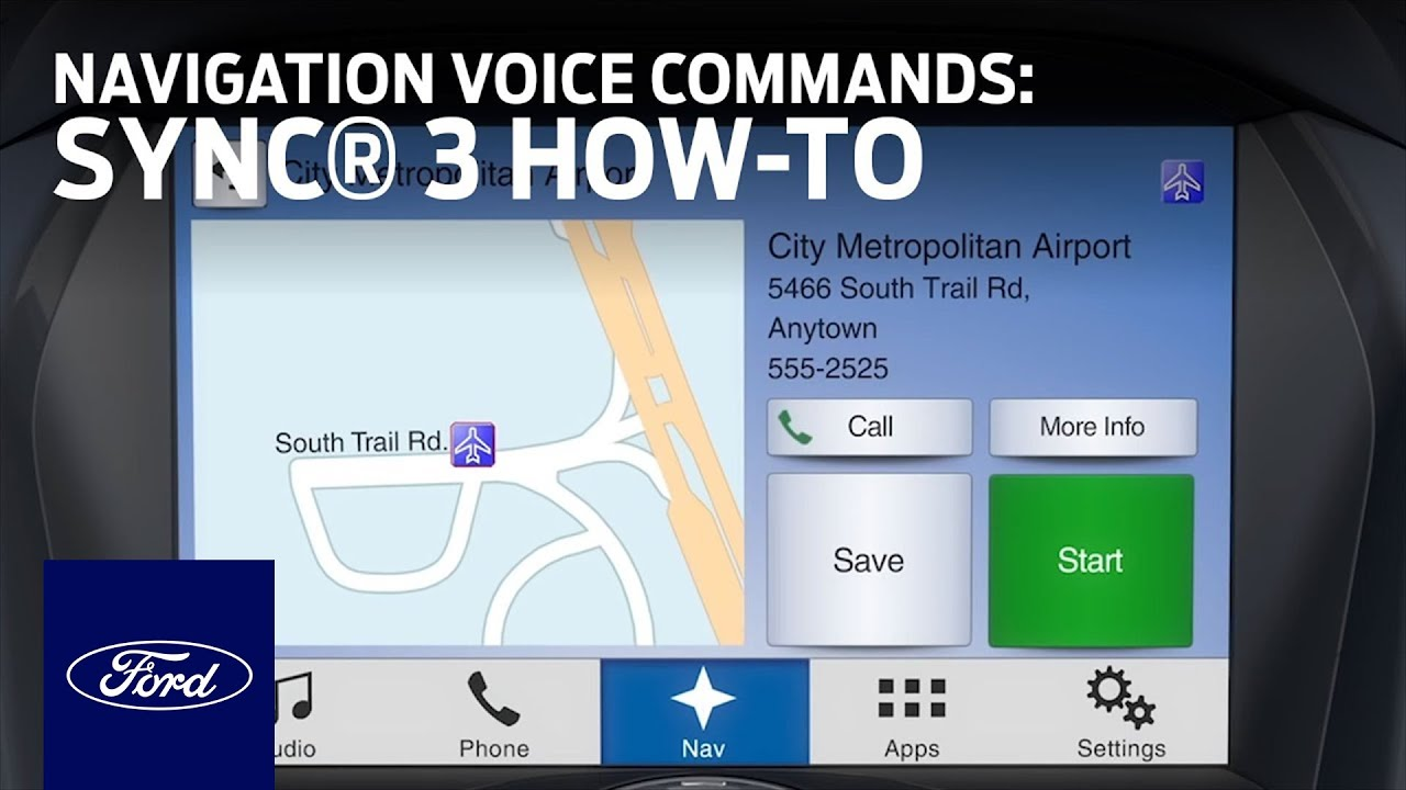 Sync 3 navigation not operable by passenger with vehicle in