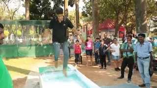 Walking On Water Ride at Essel World, Mumbai