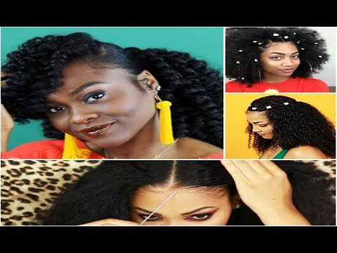 Gorgeous Viral Natural Hair Styling Videos on Instagram l Natural Hair Compilation 2018