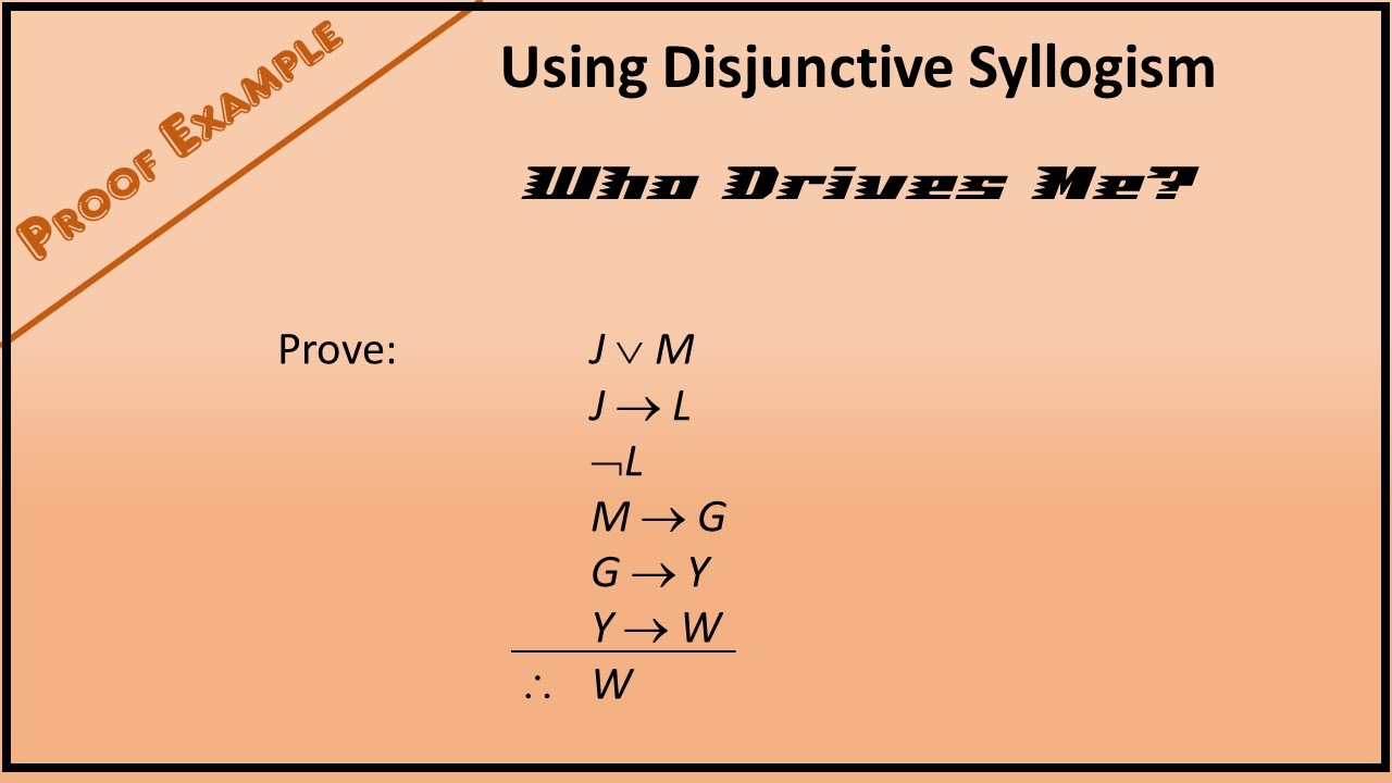 syllogisms logic 2 (logic) a deductive inference of certain other forms with two premises, such as the hypothetical syllogism,if p then q if q then r so if p then r.