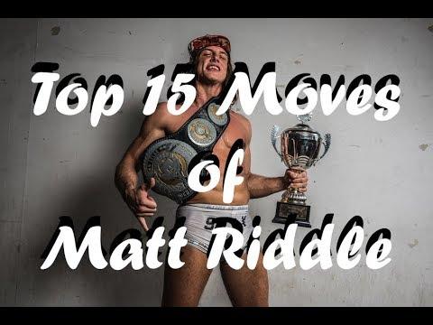 Top 15 moves of Matt Riddle