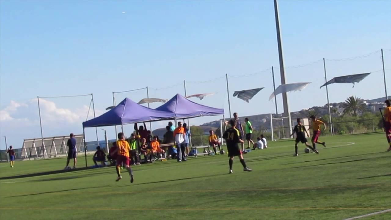 Torneo en  Mallorca de Alejandro con la  FCB Escola 2016