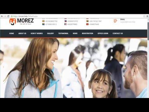 Morez Help - Tutorial Guide