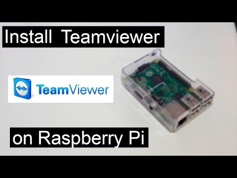 Installing TeamViewer on Raspberry Pi