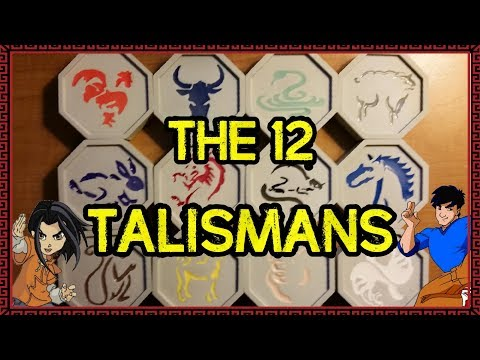 The 12 Talismans From Jackie Chan Adventures!!