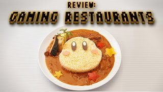 Review: Japanese Gaming Restaurants (Video Game Video Review)