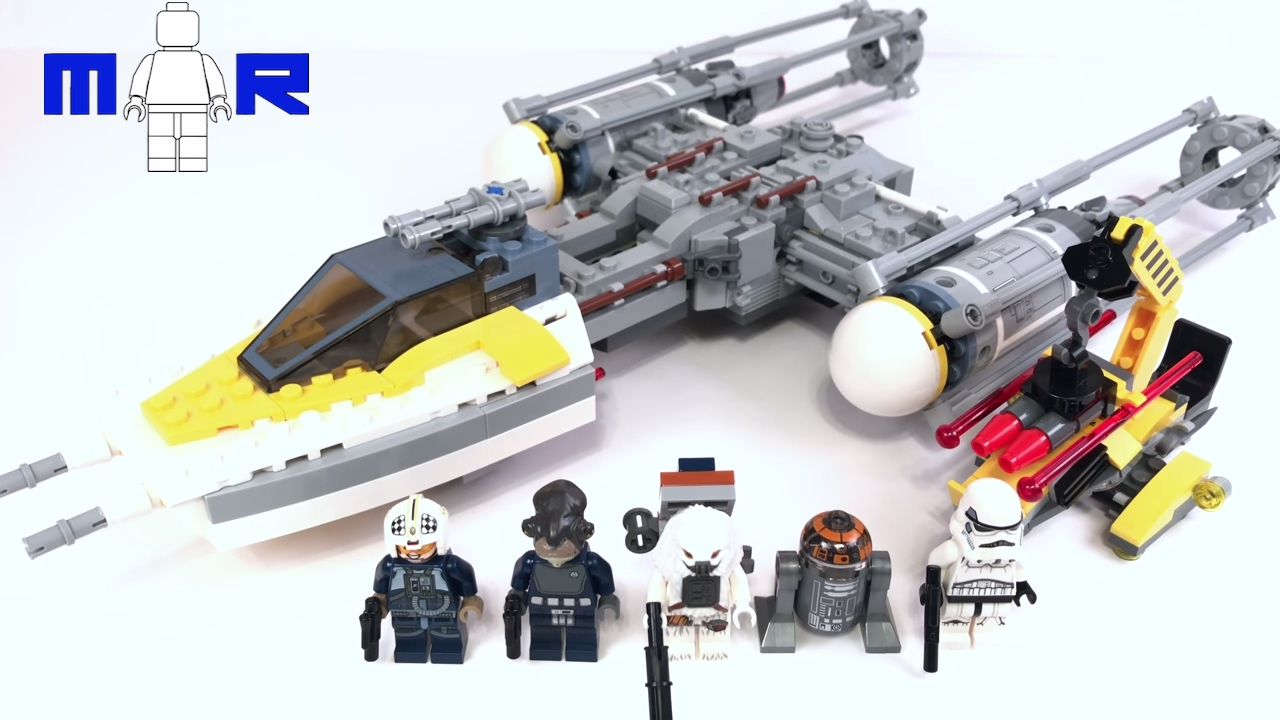 Lego Star Wars Rogue One NEW Y-Wing Pilot minifigure 75172 Y-Wing Starfighter