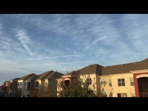 Chemtrails over Round Rock,Texas. Austin,Texas area. I feel like crap health wise.😠😩😤