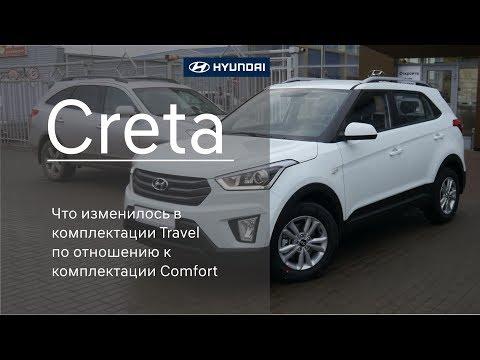Huyndai Creta 2018 МГ комплектация Travel