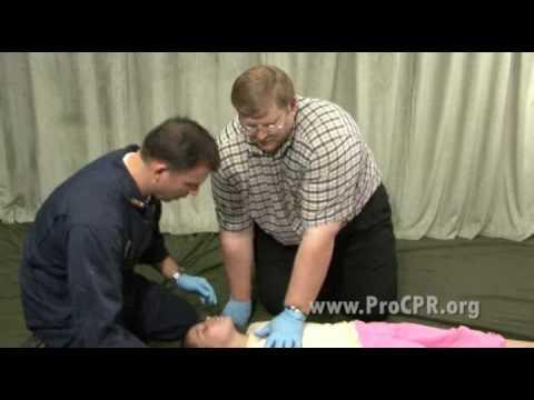 Child CPR 2 rescuer