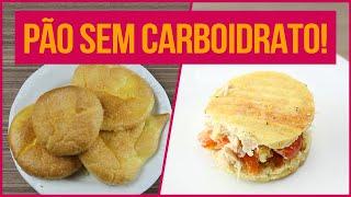 PÃO SEM CARBOIDRATO NO CAFÉ DA MANHÃ! | Receitas Fitness Fáceis de Pão Sem Farinha